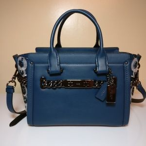COACH Swagger 27 Willow Floral Mineral 59091